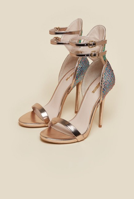 Carvela by Kurt Geiger Bronze Guide Sandals