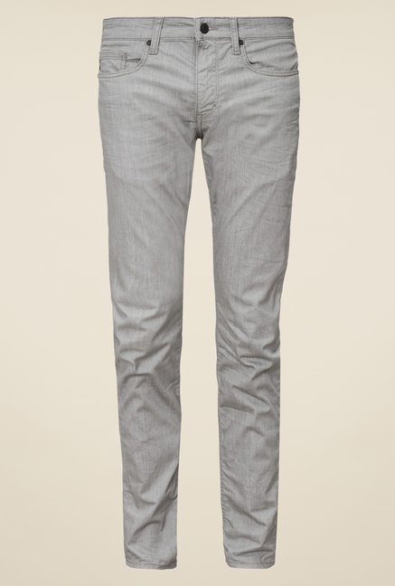 big sale e9647 1c8bf Buy s.Oliver Grey Skin Fit Jeans Online at best price at TataCLiQ