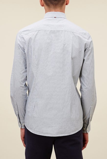 s.Oliver Grey Striped Shirt