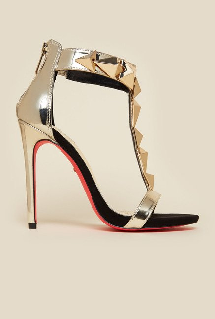 Carvela by Kurt Geiger Gold Gain Sandals