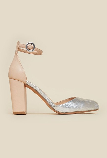 Miss KG by Kurt Geiger Nude Alice Sandals