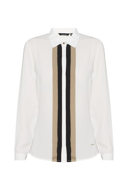 Wardrobe Off White Solid Blouse