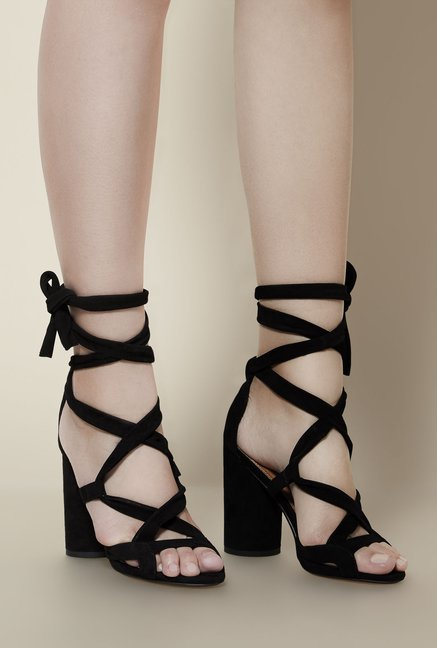 Kurt Geiger Black Mia Sandals