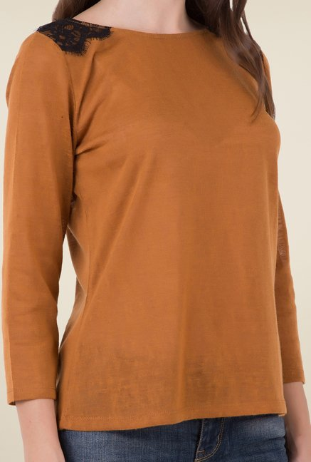 MIM Brown Solid Top