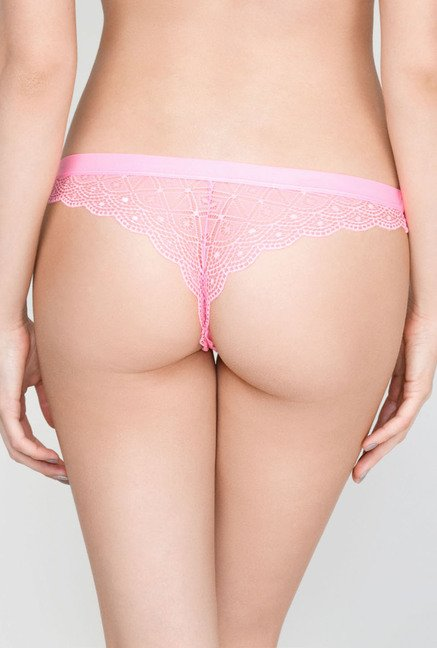 Infinity Lingerie Ora Multicolor Lace Thong (Pack of 3)
