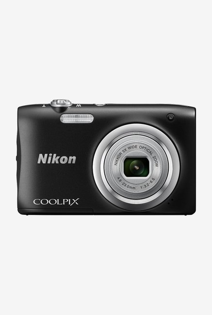 Nikon Coolpix A100 Point and Shoot Camera (Black)