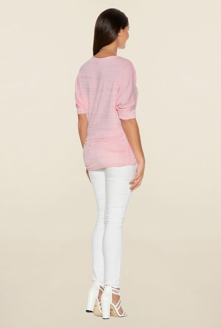 Quiz Pink Shimmery Top