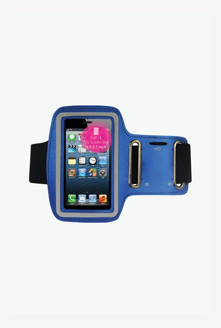"Noise Arm Band Case for Smart Phones (4.5"" to 5"") (Blue)"