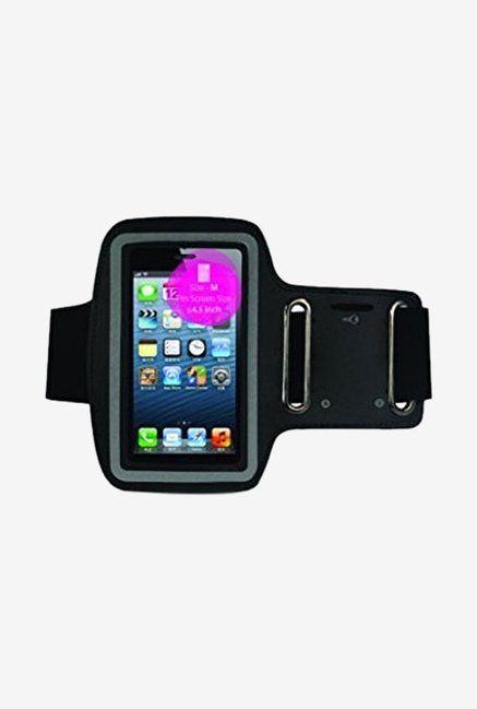 "Noise Arm Band Case for Smart Phones (upto 4.5"") (Black)"