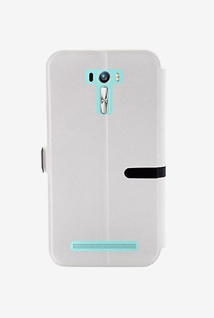 Noise Flip Cover for Asus Zenfone Selfie ZD551KL (White)
