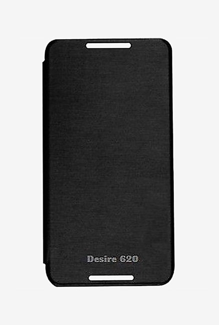 Noise Flip Cover for HTC Desire 620 (Black)