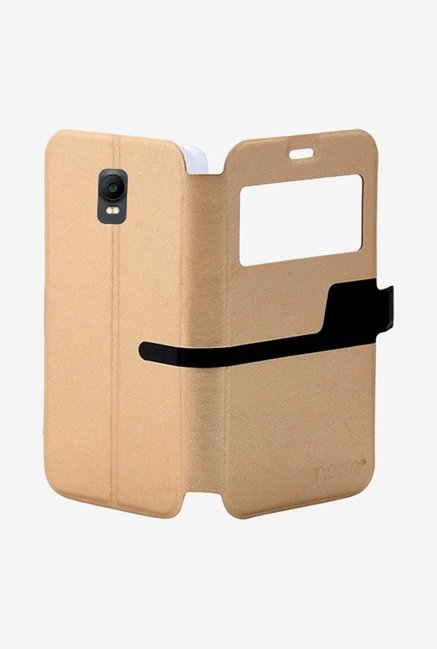Noise Flip Cover for Huawei Ascend Y336 (Gold)