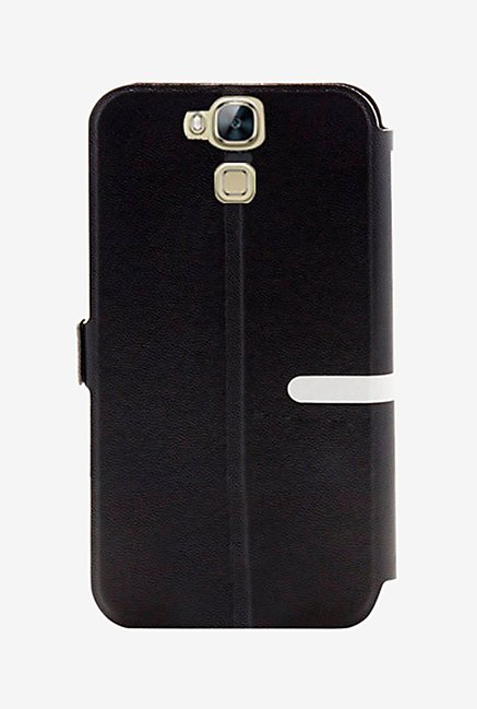 Noise Flip Cover for Huawei G7 Plus (Black)