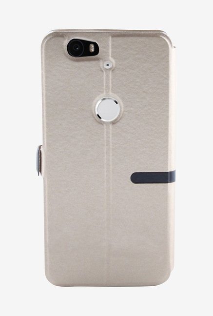 Noise Flip Cover for Huawei Nexus 6P (Gold)