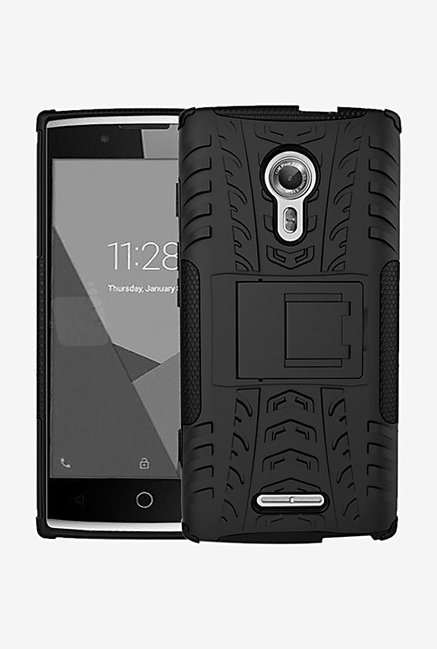 Noise Hybrid Back Case for Alcatel Flash 2 (Black)