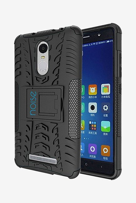 Noise Hybrid Back Case for Xiaomi Redmi Note 3 (Black)