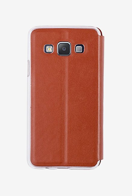 Noise Flip Cover for Samsung Galaxy A5 (Brown)