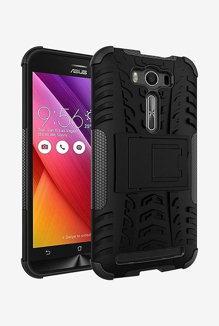 Noise Hybrid Back Case for Asus Zenfone 2 Laser (Black)