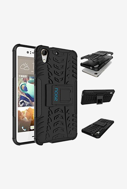 Noise Hybrid Back Case for HTC Desire 728 Dual Sim (Black)