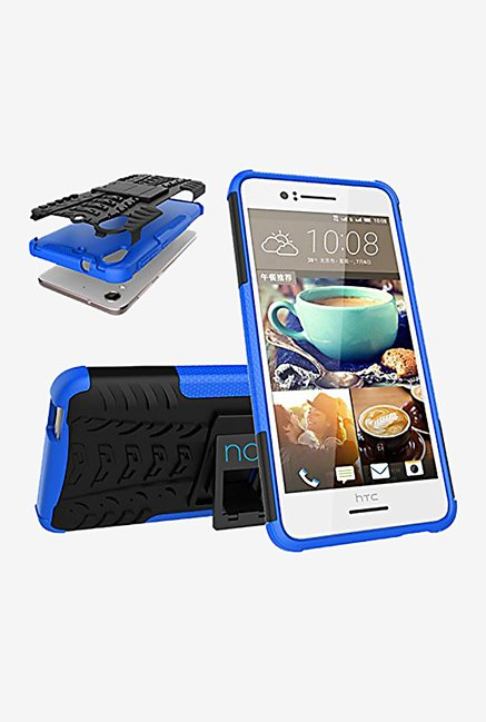Noise Hybrid Back Case for HTC Desire 728 Dual Sim (Blue)