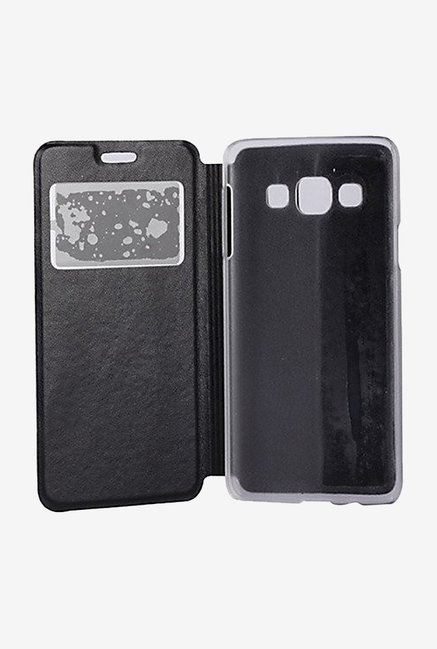 Noise Flip Cover for Samsung Galaxy A7 (Black)