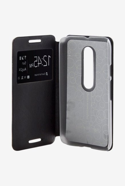Noise Flip Cover for Samsung Galaxy A8 (Black)