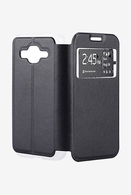 Noise Flip Cover for Samsung Galaxy Core Prime (Black)