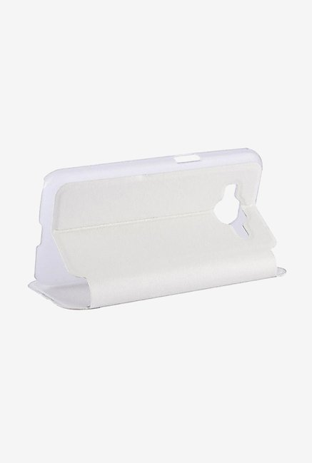 Noise Flip Cover for Samsung Galaxy Core Prime (White)