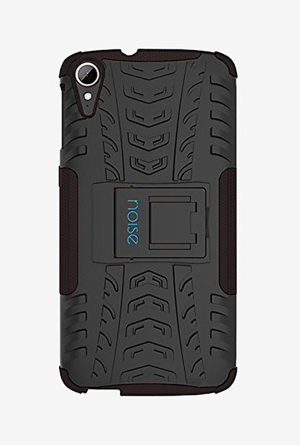 Noise Hybrid Back Case for HTC Desire 828 Dual Sim (Black)