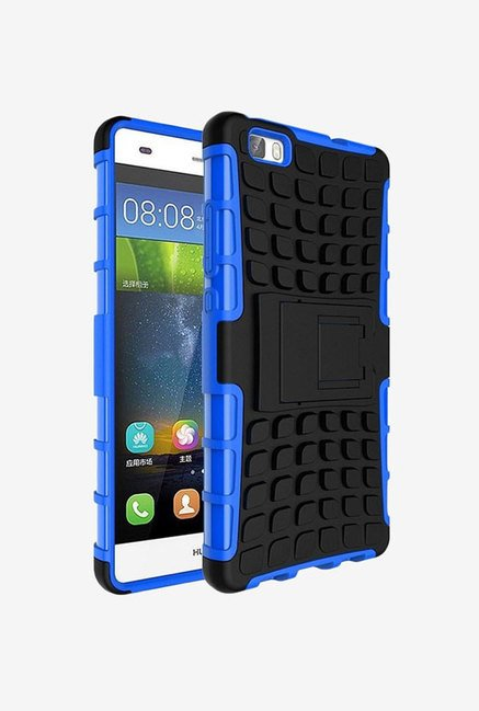 Noise Hybrid Back Case for Huawei P8lite (Blue)