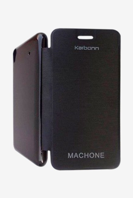 Noise Flip Cover for Karbonn Machone Titanium S310 (Black)