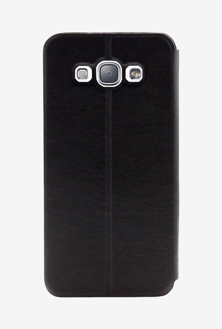 Noise Flip Cover for Samsung Galaxy E7 (Black)