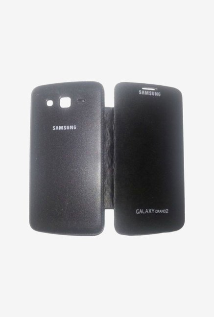 Noise Flip Cover for Samsung Galaxy Grand 2 (Black)