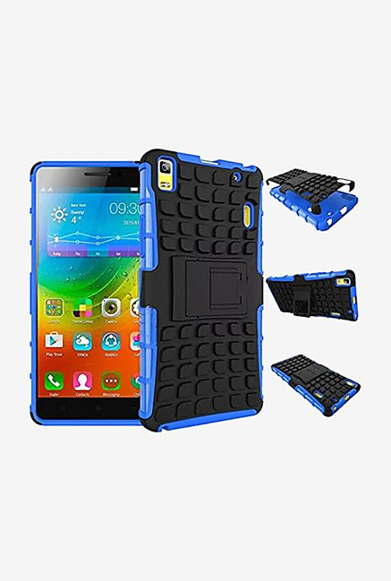 Noise Hybrid Back Case for Lenovo A7000 (Blue)