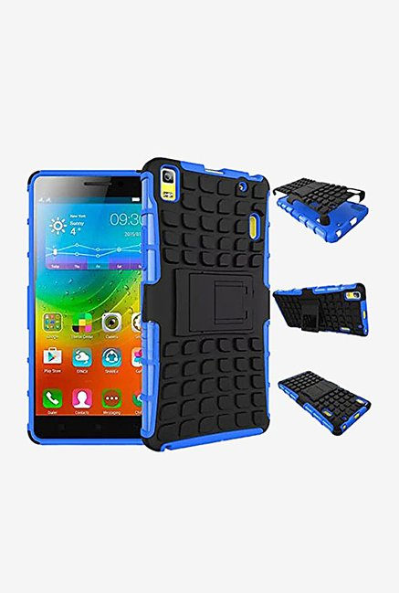 Noise Hybrid Back Case for Lenovo K3 Note (Blue)