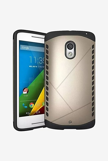 Noise Shield Back Case for Motorola Moto X Play (Gold)