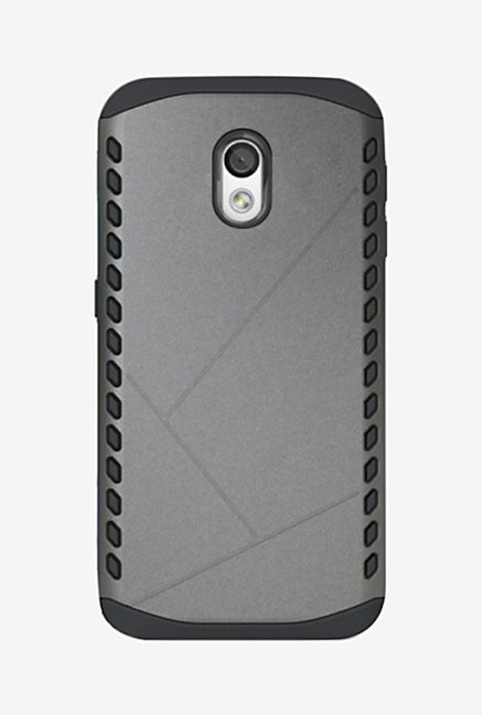 Noise Shield Back Case for Motorola Moto X Play (Grey)