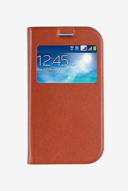Noise Flip Cover for Samsung Galaxy Grand Neo (Brown)