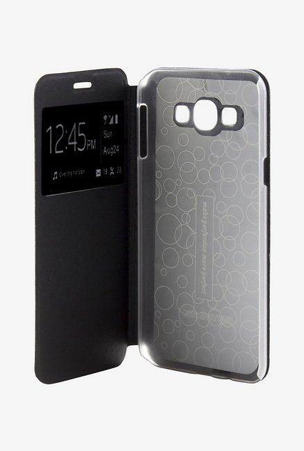 Noise Flip Cover for Samsung Galaxy Grand Neo GT (Black)