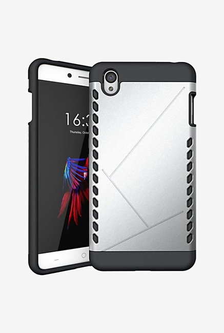 Noise Shield Back Case for OnePlus X (Silver)