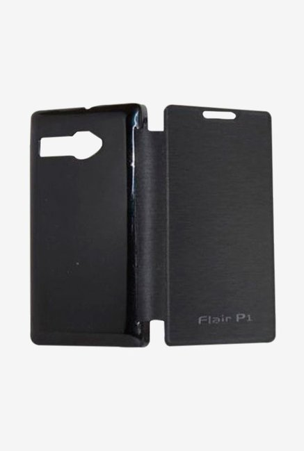 Noise Flip Cover for Lava Flair P1 (Black)