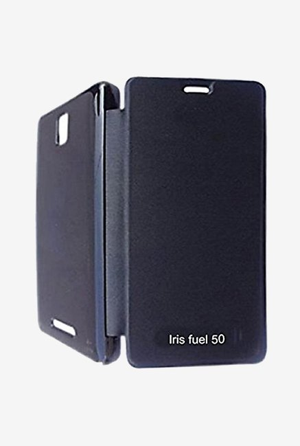 Noise Flip Cover for Lava Iris Fuel 50 (Black)