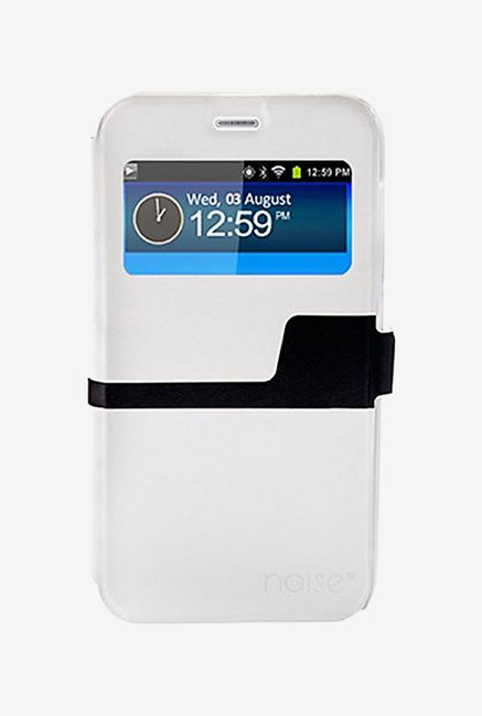 Noise Flip Cover for Samsung Galaxy Note5 (White)