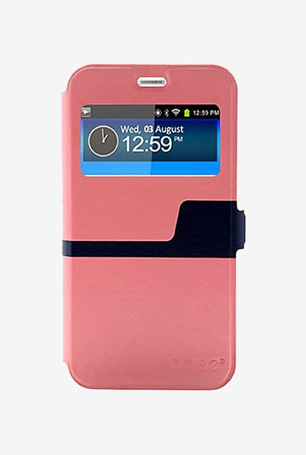 Noise Flip Cover for Samsung Galaxy Note5 (Pink)