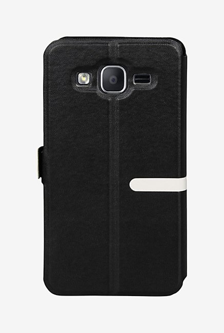 Noise Flip Cover for Samsung Galaxy On5 (Black)