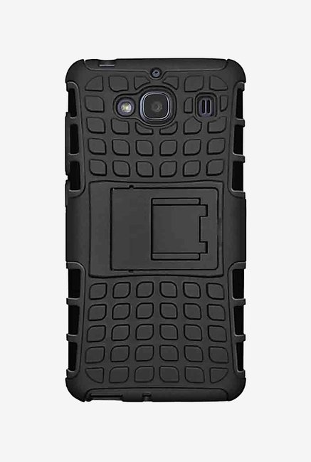 Noise Hybrid Back Case for Mi Redmi 2 Prime (Black)
