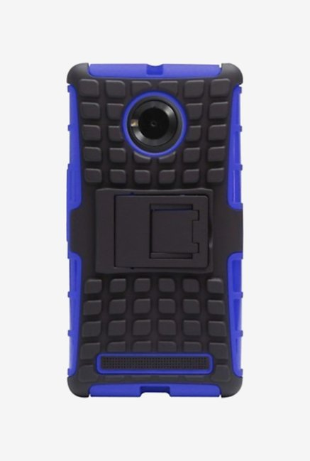 Noise Hybrid Back Case for Micromax Yu Yuphoria (Blue)