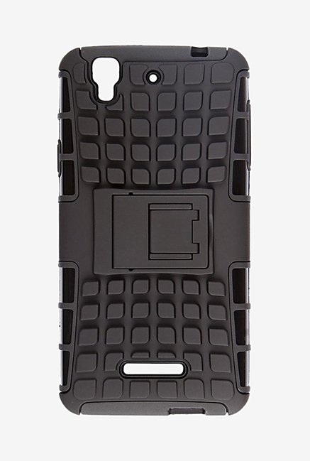 Noise Hybrid Back Case for Micromax Yu Yureka (Black)