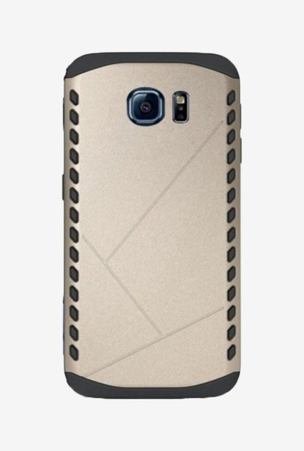 Noise Shield Back Case for Samsung Galaxy S6 (Gold)