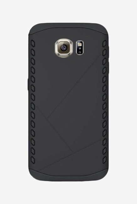 Noise Shield Back Case for Samsung Galaxy S6 Edge (Black)